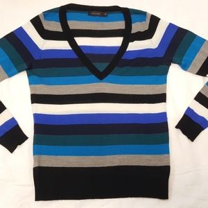 Striped Lightweight Merino Wool Sweater